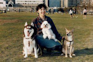 阪神大震災で犬3頭と被災